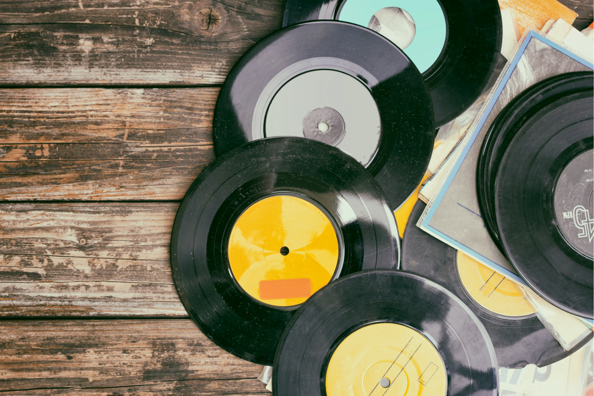 records-on-wood